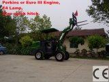 セリウムとのセリウムCertificated Agricultural Small Wheel Loader (HQ910C)