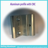 Фабрики металл CNC сразу обрабатывая промышленный алюминиевый профиль