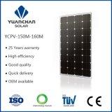 150W 18VのモノクリスタルPVの太陽電池パネルの生産ライン