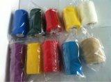 Vendaje elástico adhesivo del Crepe del vendaje del algodón