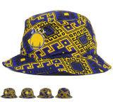 تصميم الأزياء الجديدة الملونة شعار التطريز قبعة دلو