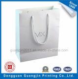 高品質のマットによって薄板にされる白書のショッピング・バッグ