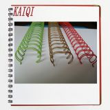 Coated en nylon Double Loop Wire pour Book Binding