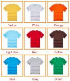 가장 싼 주문 색깔과 로고 100%년 폴리에스테 t-셔츠