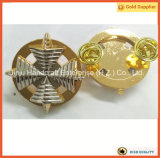 Oro y divisas de plata del Pin de Laple de la galvanoplastia (JINJU16-089) de la aleación del cinc