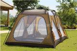 Koreanische heiße Modelle, doppelte im Freien 8-10 Personen-Zelte, wasserdichte kampierende Zelte