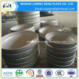 Tête elliptique matérielle bombée de l'acier inoxydable 304 d'extrémités