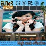 Tablilla de anuncios al aire libre de LED del palmo P10 de la larga vida