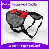 Maglia comoda del cablaggio dell'animale domestico del cane della maglia di servizio per il cane di funzionamento