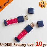 Lecteur flash USB en cristal de logo fait sur commande de cadeaux de bijou (YT-6290L)