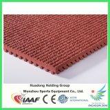 Le caoutchouc folâtre le type de plancher plancher en caoutchouc pour l'étage de cour de jeu