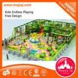 Оборудование 2016 спортивной площадки игры детей темы джунглей крытое мягкое