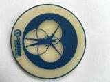 Coaster macio relativo à promoção plástico do silicone 3D da alta qualidade (CO-0063)