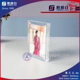 Bâti acrylique de photo de doubles côtés d'usine pour l'étalage d'illustration
