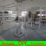 Будочка выставки систем индикации DIY модульная портативная многоразовая алюминиевая