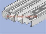形作る電流を通されたStainsteelアルミニウムVciサポートCチャネルロール機械タイを作る