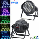 indicatore luminoso non impermeabile di PARITÀ di 54PCS*3W RGB LED