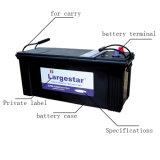 Autobatterie-Leitungskabel-Säure-Batterie-wartungsfreie Batterie Mf N120