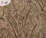 Neuestes großes Jacquardwebstuhl-Sofa-Gewebe des Chenille-2016 mit Gras-Entwurf (FTH310520)
