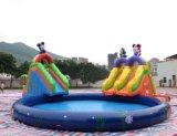 O melhor Aqua inflável relativo à promoção do parque da água do PVC, molha o melhor brinquedo do slider inflável