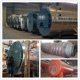 Le tube d'incendie automatiquement huilent/chaudières à vapeur 8ton/Hr à gaz
