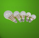 Goldenes LED-Birnen-Licht-druckgießenaluminium 7W