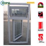 Окно высокого качества UPVC, удваивает застекленный Casement Windows PVC