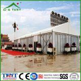 Grande tente extérieure blanche d'exposition