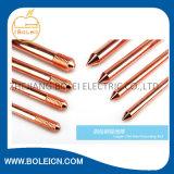 Tige de terre OEM Yuhuan Solid Copper