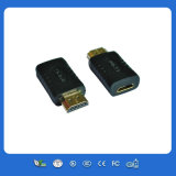 24k macho do adaptador do ouro HDMI ao macho