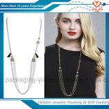 ボヘミア様式レディース方法金属の宝石の胸当てのネックレス及びペンダントの鎖