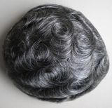 Le Toupee des hommes de rechange de cheveux humains