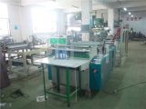 Sealing laterale Plastic Garment Bag Making Machine con Folder