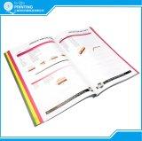 Impressão feita sob encomenda do catálogo barato da cor cheia
