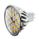 bulbo do diodo emissor de luz de 5W MR16 12V SMD