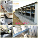 Volaille Control Shed Equipment avec Prefabricated House Construction pour One-Stop