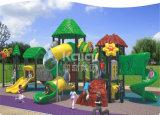 Kaiqi Marken-Wohnpark-im Freien Plastikspielplatz-Gerät mit sicheren multi Plättchen