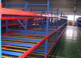 Stroom van de Opslag van het pakhuis de Industriële door Planken van het Staal van het Rek/de rekken die