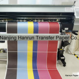 45, 55, 75, 90, 100GSM 36 '' / 44 '' / 54 '' / 63 '' / 64 '' / 72 '' High Speed ​​Fast Dry Sublimation Paper pour tissu en polyester