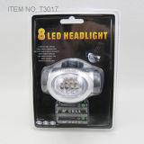 8 PCS heller Scheinwerfer des Weiß-LED (T3017B)