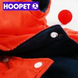Померанцовое пальто собаки в зиме и одеждах собаки любимчика Xxs