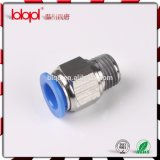 Pl Male Elbow Pneumatic Fittings para Tube