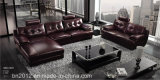 Wohnzimmer-echtes Leder-Sofa (SBO-3971)