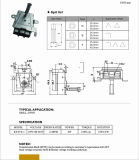 Motor síncrono del orificio del flor del ciruelo para el horno/el Rotisserie