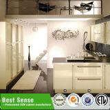 Knock Down-einfache Art-Struktur Moderne Design Metall-Küche-Kabinett