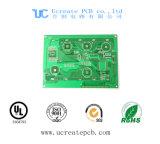 PCB Fr4 для цвета TV CRT с зеленой маской припоя