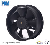 ventilador axial do extrator 48VDC de 254X89mm