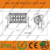 4WD 4X4 LED 표시등 막대 떨어져 7.5inch 크리 사람 36W LED 일 표시등 막대