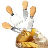 los cuchillos del cuchillo del queso 4PCS/Set fijaron la cocina que cocinaba las herramientas
