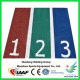 IAAF caucho sintético Ejecución de material de pista de atletismo